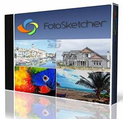 نرم افزار تبدیل عکس به نقاشی - FotoSketcher 3.20
