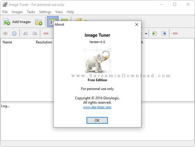 نرم افزار تبدیل فرمت عکس - Image Tuner 6.0