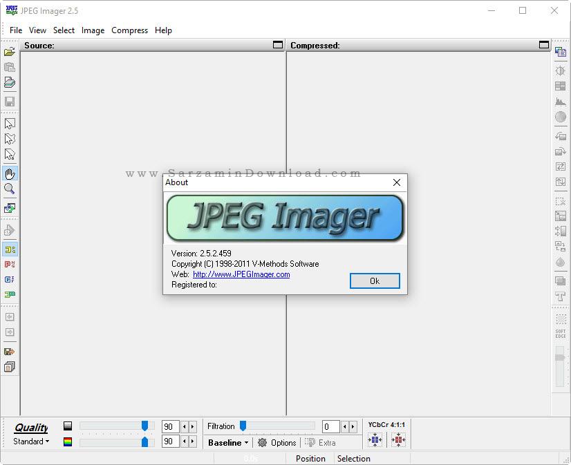 نرم افزار کاهش حجم عکس - JPEG Imager 2.5