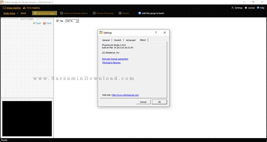 نرم افزار افزایش کیفیت عکس - PhotoAcute Studio 3.012