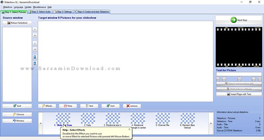 نرم افزار نمایش اسلاید عکس - Slideshow XL 10.5.8