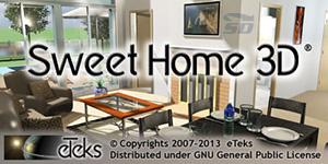 دانلود نرم افزار دکوراسیون خانه - Sweet Home 3D 5.2 - دانلود رایگان