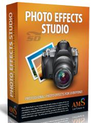 نرم افزار افکت گذاری روی عکس - AMS Software Photo Effects Studio 3.15