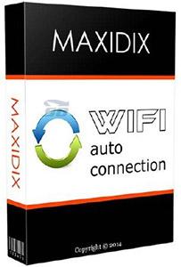 نرم افزار اشتراک گذاری اینترنت لپتاپ - Maxidix Wifi Autoconnection 14.9