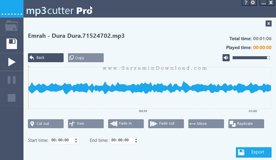 نرم افزار برش آهنگ - Abelssoft MP3 Cutter 2015