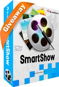 نرم افزار ساخت فیلم با عکس - BlazeVideo SmartShow 2