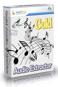 نرم افزار حذف صدا از فیلم - Gold Audio Extractor 5.5.9