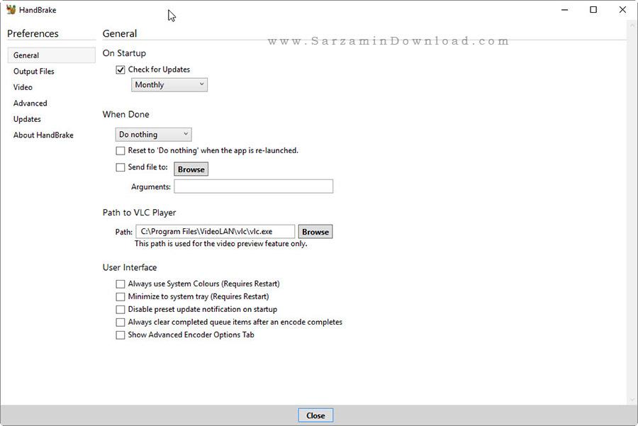نرم افزار کاهش حجم فیلم بدون افت کیفیت - HandBrake 0.10.5