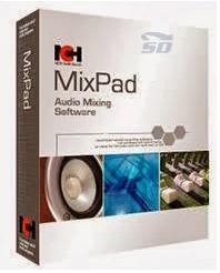 نرم افزار میکس آهنگ - MixPad Audio Mixer 3.61
