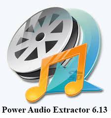 نرم افزار حذف صدا از فیلم - Power Audio Extractor 6.13