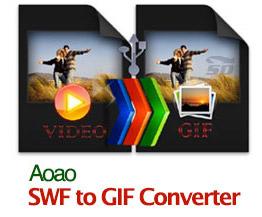 نرم افزار تبدیل فایل فلش به گیف - Aoao SWF to GIF Converter 3.1