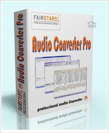 نرم افزار تبدیل فرمت صوتی - FairStars Audio Converter Pro 1.81