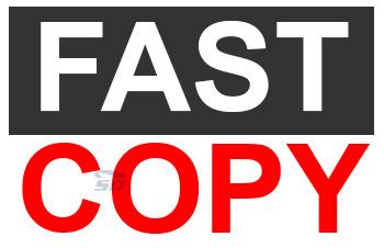 نرم افزار کپی سریع - FastCopy 3.13