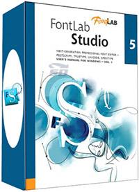نرم افزار ساخت فونت - Fontlab Studio 5.2.2