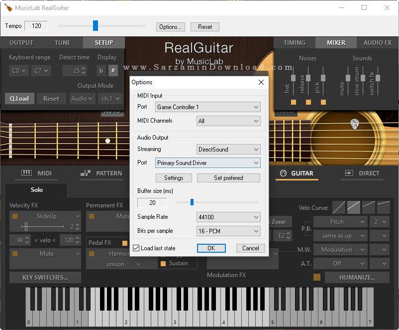 نرم افزار آکورد گیتار - Musiclab RealGuitar 4