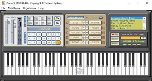 نرم افزار شبیه ساز پیانو - Piano FX Studio 4