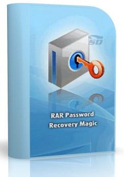 نرم افزار برداشتن پسورد رر - RAR Password Recovery Magic 6.1.1