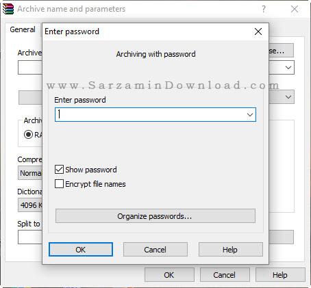 آموزش رمزگذاری روی فایل های فشرده با استفاده از وینرر