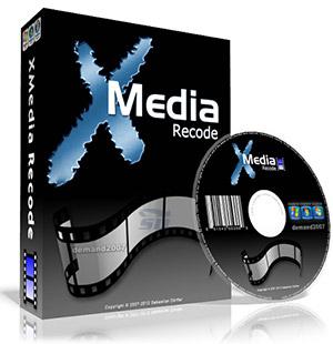 نرم افزار تبدیل فرمت صوتی - XMedia Recode 3.3.3