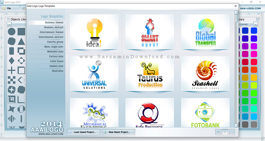 نرم افزار طراحی لوگو - AAA Logo 2014 v4.10