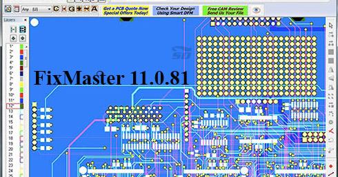نرم افزار طراحی فیکسچر بردهای مدار چاپی - FixMaster 11.0.81