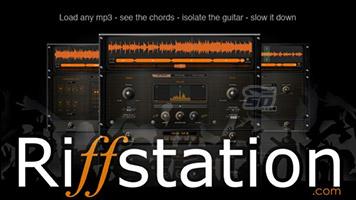 نرم افزار آکورد گیتار - Riffstation Guitar Software 1.5.3.1
