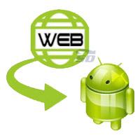 نرم افزار ساخت نرم افزار اندروید سایت - Website 2 APK Builder Pro 2.1
