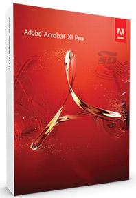 نرم افزار ویرایش و نمایش فایل های پی دی اف - Adobe Acrobat XI Professional 11.0.17
