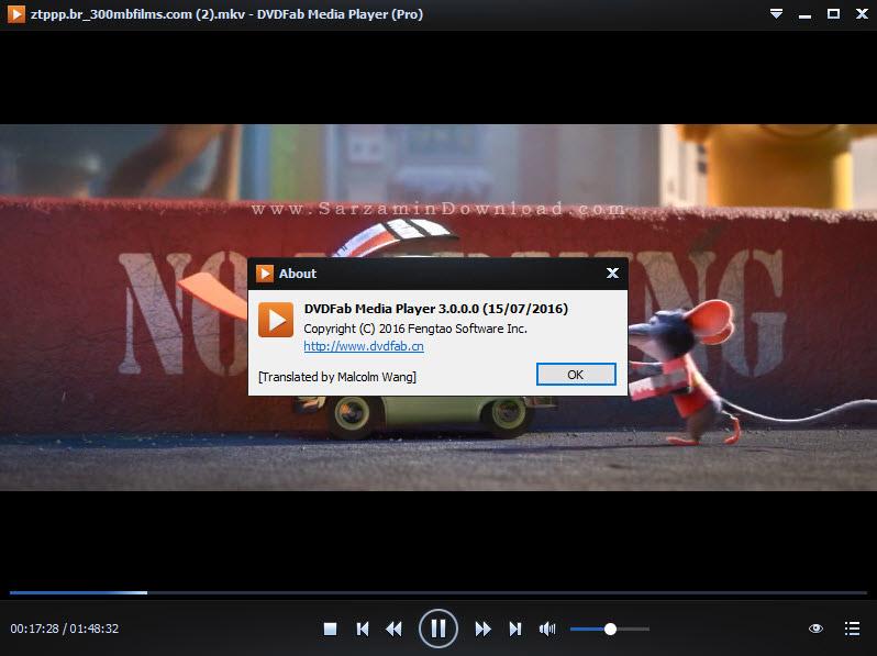 نرم افزار پخش و موسیقی - DVDFab Media Player Pro 3
