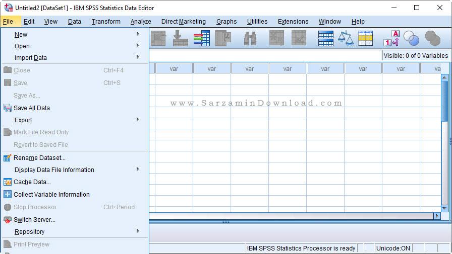 نرم افزار SPSS تحلیل داده های آماری - IBM SPSS Statistics 24