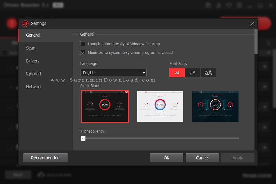 نرم افزار آپدیت درایور های ویندوز - IObit Driver Booster Pro 3.5