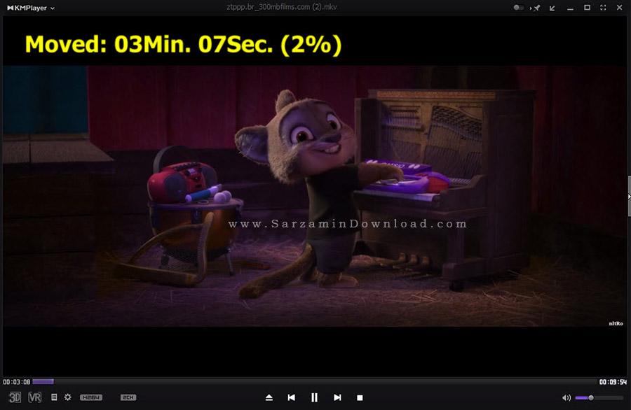نرم افزار پخش فیلم و موسیقی، کا ام پلیر - KMPlayer 4.1.1.5