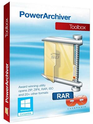 نرم افزار فشرده سازی - PowerArchiver Toolbox 16.10