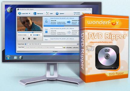 نرم افزار استخراج فیلم از دی وی دی - WonderFox DVD Ripper Pro 8