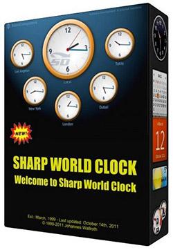 نرم افزار ساعت کشورهای جهان - Sharp World Clock 7.14