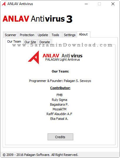 نرم افزار آنتی ویروس قوی - ANLAV Antivirus 3