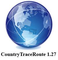 نرم افزار پیدا کردن کشور آی پی اینترنت - CountryTraceRoute 1.27
