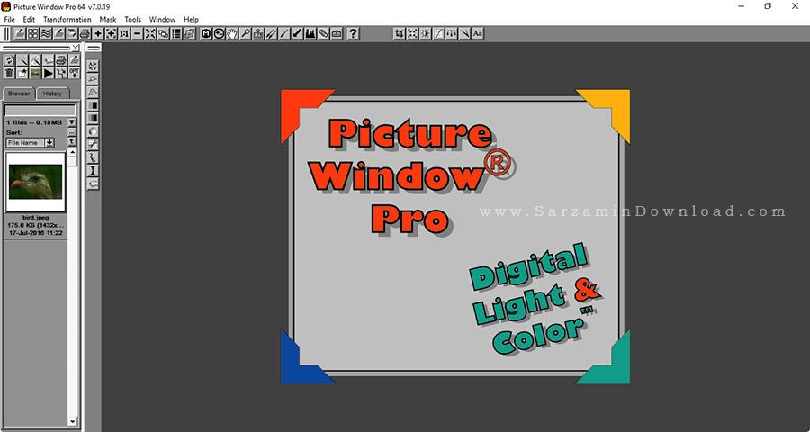 نرم افزار ویرایش تصاویر - Picture Window Pro 7.0.19