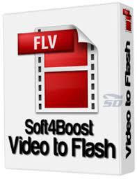 دانلود نرم افزار تبدیل فایل های ویدیویی به فلش Soft4Boost Video to Flash 4.9