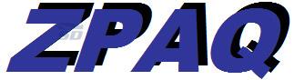 نرم افزار فشرده سازی تحت داس - ZPAQ 7.15