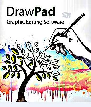 نرم افزار ویرایش عکس - DrawPad Graphic Editor 2.3