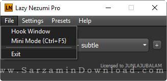 نرم افزار کشیدن خط های ظریف طراحی - Lazy Nezumi Pro 16.6