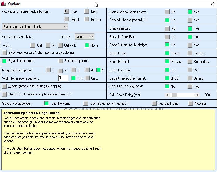 نرم افزار ذخیره سازی در کلیبورد - M8 Free Clipboard 24