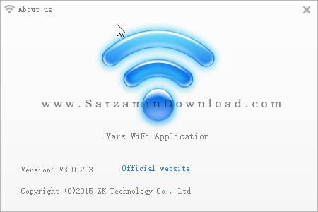 نرم افزار اشتراک گذاری اینترنت لپ تاپ - Mars WiFi 3