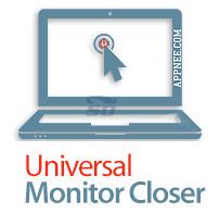 نرم افزار خاموش کردن مانیتور با یک کلیک - Universal Monitor Closer 1.0
