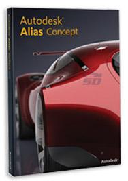 نرم افزار طراحی خودرو - Autodesk Alias Concept 2017 SP1