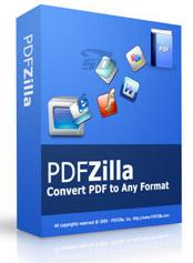 نرم افزار تبدیل فایل های پی دی اف - PDFZilla 3.2