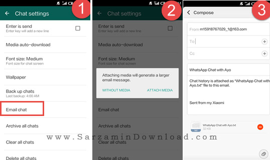 آموزش انتقال اطلاعات واتس اپ از اندروید به آیفون و بالعکس