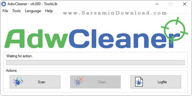 نرم افزار ضد تبلیغات اینترنتی - AdwCleaner 6