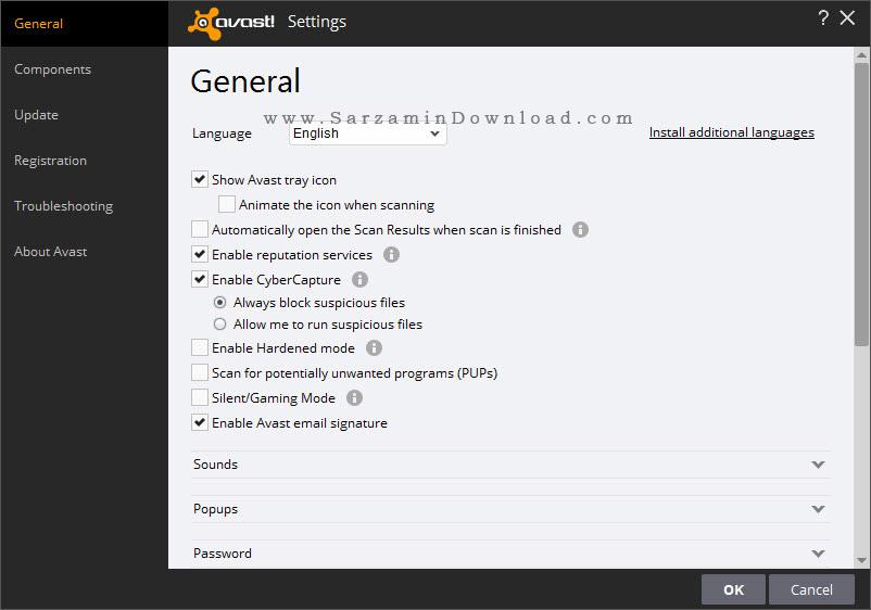 آنتی ویروس اوست نسخه رایگان - Avast Free Antivirus 12.2.22